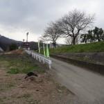 田代運動公園 河原へのスロープ