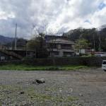 馬渡橋 河川敷へのスロープ