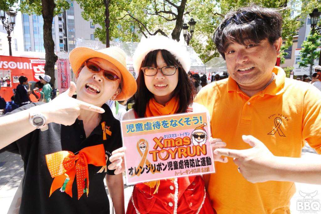 児童虐待防止運動「オレンジリボン」