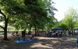 舎人公園 BBQ場