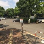 引地台公園 駐車場