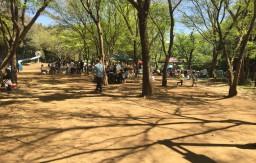 ふれあいの森公園 BBQ場