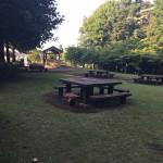津久井城山公園 テーブル
