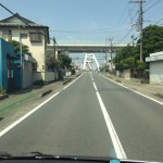 あゆみ橋 遠景