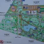 舎人公園 見取り図
