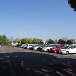 舎人公園 駐車場