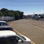 横浜つくし野コース駐車場入口