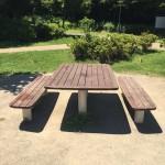 玄海田公園ベンチ