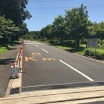 玄海田公園入口道路