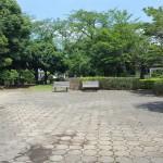 沼辺公園 ベンチ