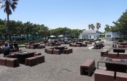 稲毛海浜公園 bbqゾーン全体図