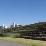 荒川戸田橋緑地公園 階段