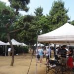 潮風公園 テントゾーン