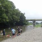 嵐山渓谷バーベキュー場 川遊びスポット
