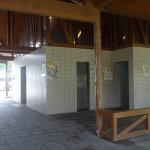 嵐山渓谷バーベキュー場 トイレ