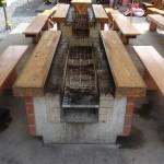 嵐山渓谷バーベキュー場 野外炉