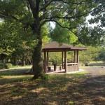 幸手綜合公園 屋根付きベンチ