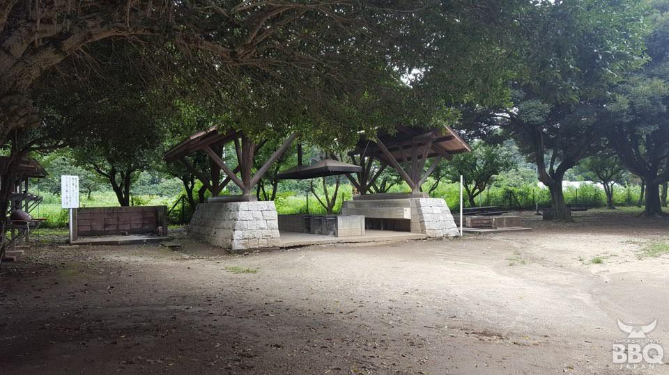 さぎ山記念公園 BBQスポット