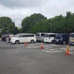 蕨市民公園 駐車場