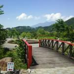 大武川河川公園フレンドパークむかわ園内吊橋