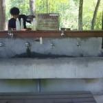 白州・白尾の森名水公園ベルガ水場