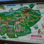 白州・白尾の森名水公園ベルガ見取図