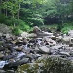 オートキャンプすずらん内渓流