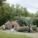 双葉水辺公園恐竜遊具