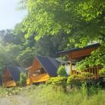 ウエストリバーオートキャンプ場ログハウス