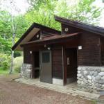堂の山青少年キャンプ場トイレ