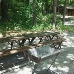 森と水のテーマパーク丘の公園オートキャンプ場コンロ