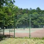 森と水のテーマパーク丘の公園テニスコート