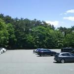 森と水のテーマパーク丘の公園駐車場