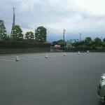 山梨県笛吹川フルーツ公園駐車場
