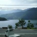 西湖の湖畔