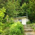 津原キャンプ場トイレ