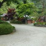 庭園の様な場内