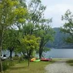 芦沢コテージ西湖の絶景