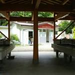 芦沢コテージ炊事場