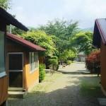 観岳園キャンプ場バンガロー