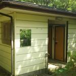 西湖キャンプ場テント村トイレ