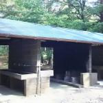 本栖湖キャンプ場炊事場