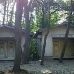 本栖湖キャンプ場シャワー室