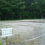 村営山中湖キャンプ場駐車場