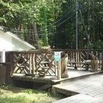 自然暮らし体験村清水国明の森と湖の楽園喫煙場