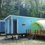 自然暮らし体験村清水国明の森と湖の楽園トレーラーハウス
