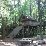 自然暮らし体験村清水国明の森と湖の楽園コテージ