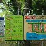みさきキャンプ場見取図