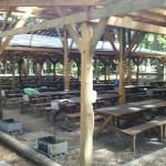 自然暮らし体験村清水国明の森と湖の楽園BBQ場